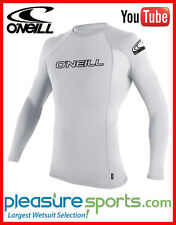 O'Neill Skins Long Sleeve Rashguard 50+ UV Protection White