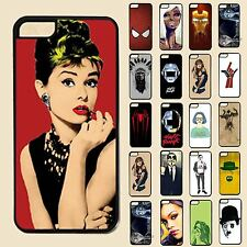 Various New Color Image Hard Back Skin Case Cover For Apple IPhone 4 4S 5 5S 5C