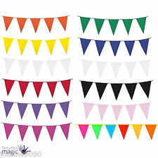 10M LONG GIANT FLAG BUNTING GARLAND PENNANTS GARDEN PARTY FETE PUB DECORATION BN