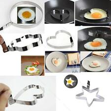 Kitchen Stainless Steel 5 Shaped Pancake Mold Cook CYHM Fried Egg Shaper