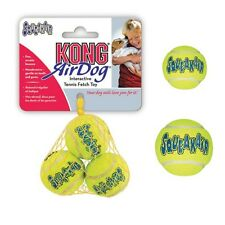 AIR KONG Tennis Balls with Squeaker for Dogs ! Heavy Duty Dog Toy that Squeaks !