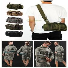 Utility Military Tactical Waist Shoulder Camping Hiking Outdoor Pack Pouch Bag