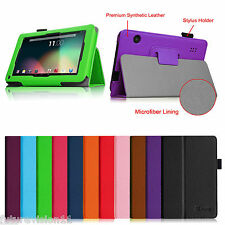 """Leather Case Cover For iRulu 7"""" Tablet PC Android 4.2 Dual Core A23 1.5 Dragon 7"""