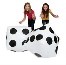 New Inflatable Dice Decoration Favor Prank Gift Casing Inflate Toy Party Toy S