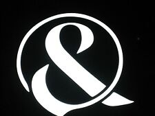 Of Mice And Men Ampersand Music Band Logo Vinyl Decal Sticker Car Window 71041