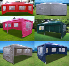 New Patio Outdoor Party Wedding Tent Gazebo Events Pavilion 20'x10' Cover Wall