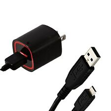 RAPID 2.1 AMP HOME TRAVEL WALL CHARGER ADAPTER+USB SYNC CABLE FOR VERIZON PHONE
