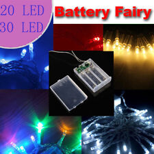 3AA Battery  20/30LED Powered String Fairy Lights Flash Modes XMAS  Decorations