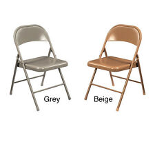 NPS Commercialine All Steel Folding Chair (Pack of 4)