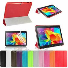 Super Slim Flip Leather Case Cover For Samsung Galaxy Tab 4 10.1 inch SM-T530NU