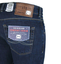 JOKER Jeans FREDDY navy blue rinsed mit Stretchanteil