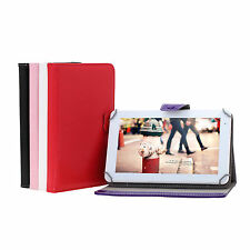 "New Multi-Color 9 Inch Folio PU Leather Smart Stand Case Cover for 9"" Tablet PC"