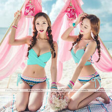 2014 SUMMER Sexy Women Bandage Bikini Set Push-up Padded Bra Swimsuit Swimwear