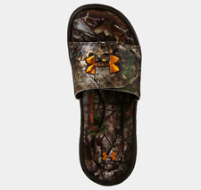 Under Armour YOUTH Ignite Camo II Slides (Realtree Xtra) 1240779-341