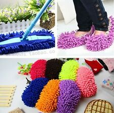 1PC Mop Slipper Floor Cleaner JT21 Polishing Cover Dusting Cleaning Foot Shoes