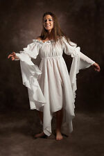 RENAISSANCE COSTUME MEDIEVAL DRESS-UP PEASANT PIRATE WENCH TRIBAL FAIRY CHEMISE