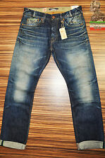 PEPE JEANS SELVEDGE HERITAGE STINSON MENS JEANS W32 W33 BRAND NEW TAPERED LEG