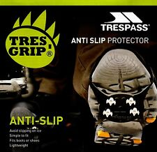 TRESPASS GRIPPING ANTI SNOW ICE SLIP LIGHT WEIGHT PROTECTOR BOOTS SHOES