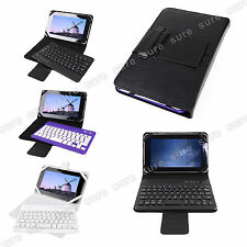 """Universal 7"""" 7 inch Android Tablet PC Bluetooth Keyboard Case Cover"""
