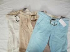 New Girl's Old Navy Belted Khaki Pants - Sizes 7S, 8S, 10S, 12 - NWT