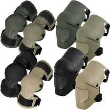KneePro Tactical Ultra Flex III Safety Paintball Airsoft Knee/Elbow Pad Set