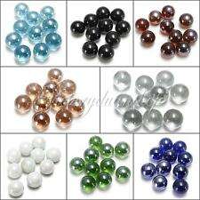 10pcs 16MM GLASS MARBLES TRADITIONAL GAME PLAY SHOOTER OR COLLECTORS ITEMS HOM
