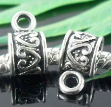 Wholesale 30/65Pcs Tibetan Silver  Spacer Beads 11x6mm(Lead-free)