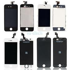 Iphone 4/4S/5/5C/5S Model w/Frame LCD Display Touch Screen Digitizer Assembly HK