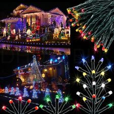 100 Solar LED Fairy Light String Christmas Party Wedding Garden Decor Xmas Lawm