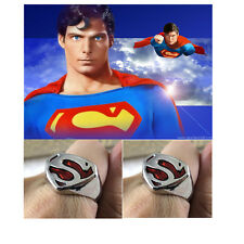 New Design Hot DC Comics Popular Superman Ring Cosplay Jewelry oa1107