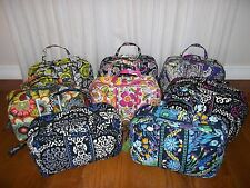 NWT New Vera Bradley Grand Cosmetic Case in 8 patterns