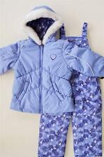 NWT 4 5/6 6X Girls London Fog Snowsuit ski outfit with bib snow pants $100 New