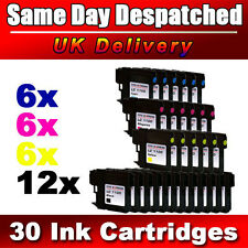 30 Cheap ink cartridges LC980 LC1100 Compatible for Brother DCP & MFC Printers