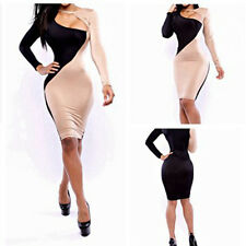 Womens V Neck Celebrity Style Bandage Bodycon Dresses Party Pencil Dress