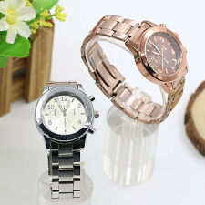 Geneva Ladies Women Girl Charm Stylish Unisex Stainless Steel Quartz Wrist Watch