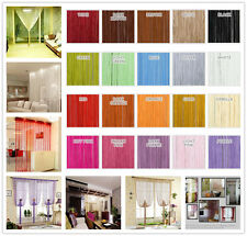 Decor Tassel String Curtains Patio Net Fringe Door Fly Screen Windows Divider