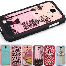 Fashion Pattern 3 in 1 Hard Case Skin Cover for Samsung Galalxy S4 IV i9500