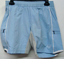 FOX RACING LIBERTY BLUE WOMENS MTB BIKING CYCLING TECHNICAL SHORT (26027) NEW