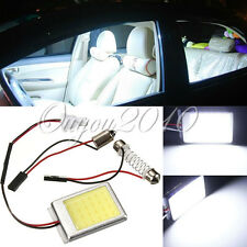 Super Bright Car Interior COB LED Panel Light Lamp t10 Festoon Dome BA9S Adapter
