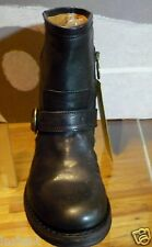 NIB AUTHENTIC FIORENTINI BAKER BOOTS BLACK LEATHER ELI ETERNITY,37,