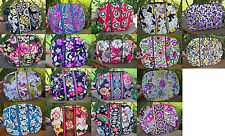 VERA BRADLEY Large Cosmetic Bag Case NEW Variety of Patterns