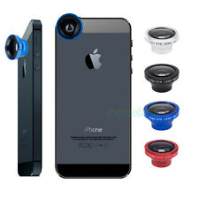 Detachable 3in1 Fish Eye Lens+Wide Angle+Macro Lens for Tablet Smartphones Phone
