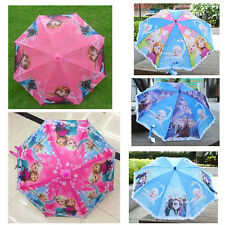 Foldable Frozen Tangled Disney Children Kids Umbrella With Whistle Gift