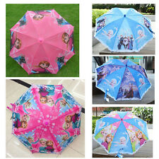 Frozen princess Umbrella/Children Snow Queen Anna Elsa Sunny and Rainy Umbrella