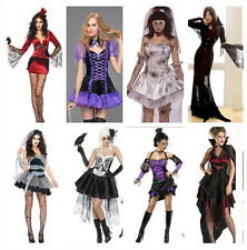 Women's Halloween Costume Stage Cosplay Fancy Dress Vampiress Witch Theme Party