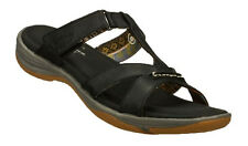 "Skechers Women's NEW ""Pillow Tops"" Black 38925 Sandals"