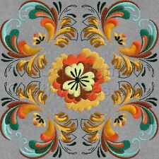 Rosemaling-Set 2- Machine Embroidery Designs Set of 10 CD