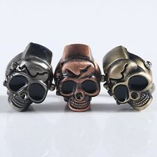 Pary Jewelry Skull Punk Gothic Finger Ring Watch Quartz Watch Finger Decoration