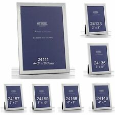 Picture Photo Poster Frame Silver Plated Plain Home Decor Graduation Gift