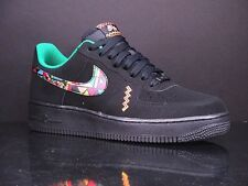 NIKE Air Force 1 black multi color New Urban Jungle Uptown Sheed 488298 059